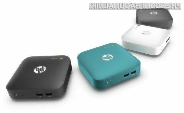 Osebni računalnik HP Chromebox se bo na račun zmogljive strojne opreme zlahka prikupil tudi zahtevnejšim uporabnikom.