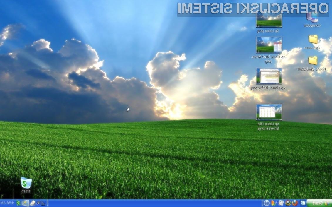 Delež uporabnikov Linuxa naj bi se na račun sistema Windows XP kmalu močno povečal!