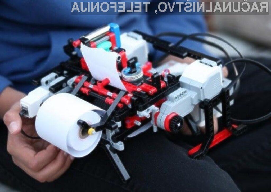 12-letnik je proizvajalcem tiskalnikov dokazal, da se z nekaj iznajdljivosti lahko doseže veliko!