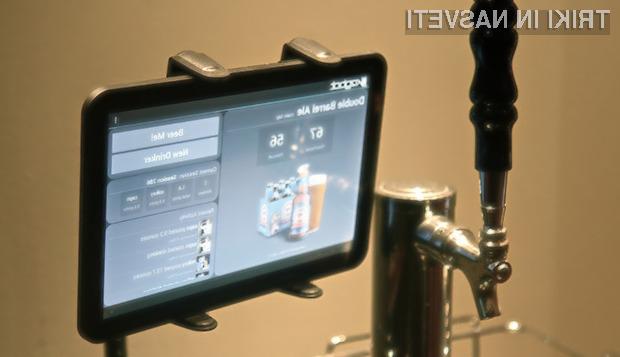 Kegbot je robot za pivo, ki meri porabo posameznih uporabnikov.