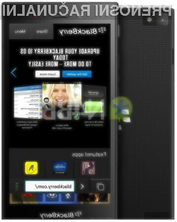 Pametni mobilni telefon BlackBerry Z3 naj bi kljub nekoliko šibkejši strojni opremi zagotavljal hitro odzivnost nameščenega programja.
