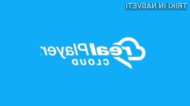 Oblačni večpredstavnostni predvajalnik RealPlayer Cloud zagotavlja najboljšo možno izkušnjo pri predvajanju videoposnetkov preko spleta!