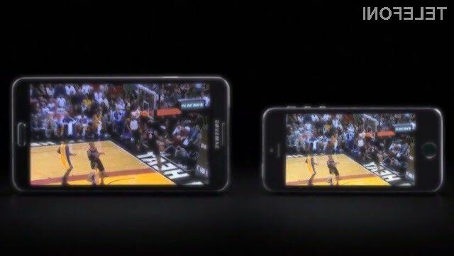 Za podjetje Samsung je pametni mobilni telefon iPhone 5S bolj kot ne povsem neuporaben izdelek.