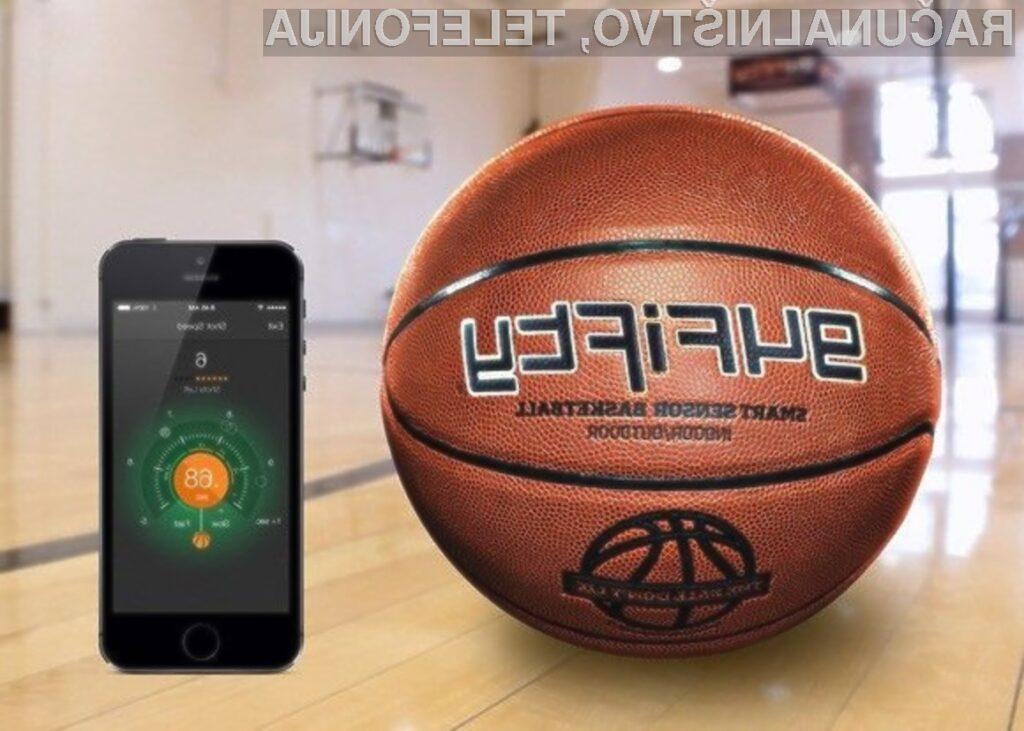 Pametna košarkarska žoga 94Fifty je dobavljiva tudi v Slovenijo!