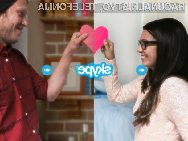 Skype je odlično orodje za ohranjanje zveze na daljavo!