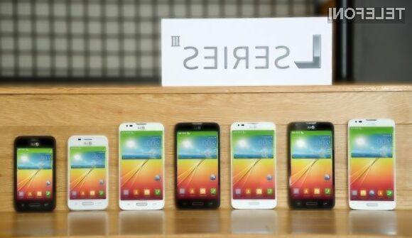 Poceni mobilniki LG z Androidom 4.4 KitKat!