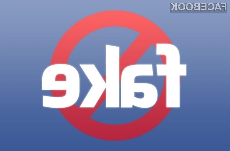 Na Facebooku naj bi bilo trenutno do 138 milijonov lažnih ali podvojenih profilov!
