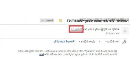 """Gmail sedaj ponuja lažjo odjavo od """"spama""""."""