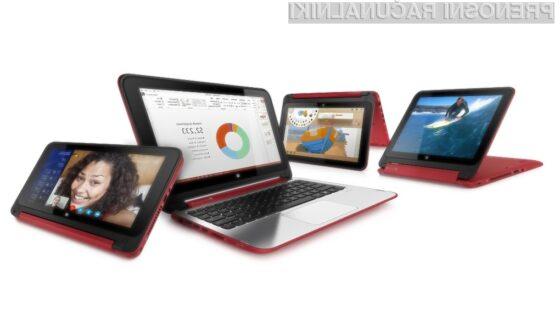 Hibridni prenosnik HP Pavilion x360 lahko uporabljamo za vse priložnosti!