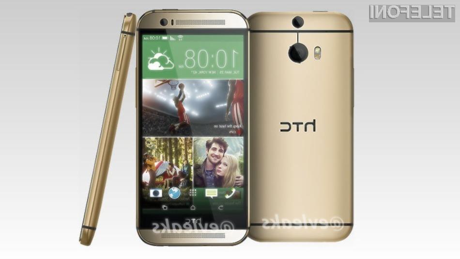 Pametni mobilni telefon HTC M8 naj bi priljubljeni mobilnik One nasledil že v prvi polovici aprila!