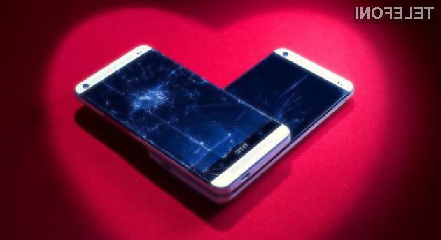 Program »HTC Advantage« kupcem pametnih mobilnih telefonov HTC omogoča brezplačno zamenjavo zaščitnega stekla zaslona!