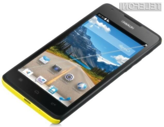 Mobilnik Huawei Ascend Y530 bi lahko bil naprodaj v Sloveniji še pred pomladjo!