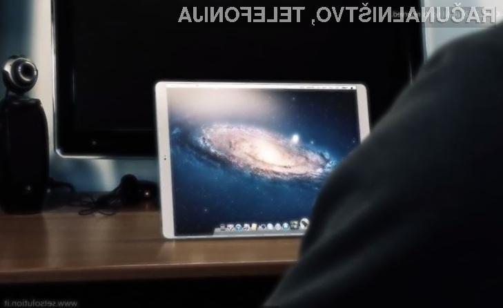 Večji tablični računalnik z operacijskim sistemom MacOS X bi zlahka lahko nadomestil osebne računalnike!