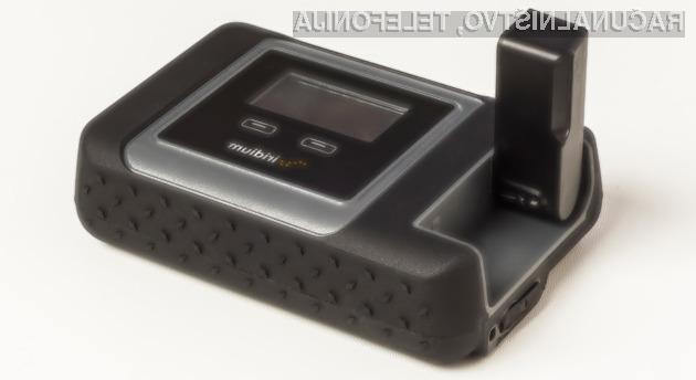 Iridium Go omogoča brezžično povezavo s satelitskim internetom za do pet WiFi-naprav.