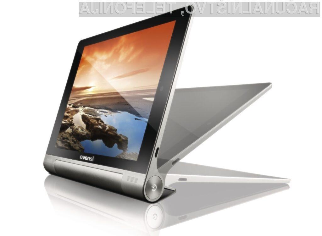 Tablični računalnik Lenovo Yoga 8 lahko z enim polnjenjem neprekinjeno uporabljamo kar 14,2 ur!