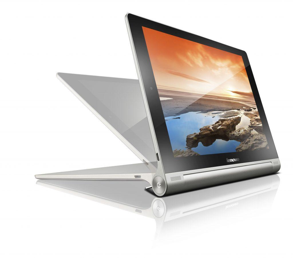 Lenovo s še bolj vsestransko tablico YOGA Tablet 10 HD+