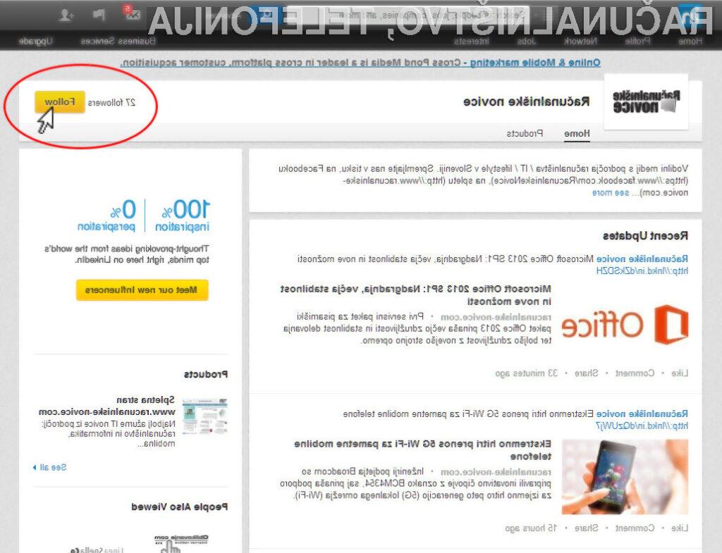 Zabavna in koristna sprostitev na LinkedIn