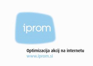 S strateškim in operativnim iPROM Svetovanjem do širitve poslovanja in večje prodaje