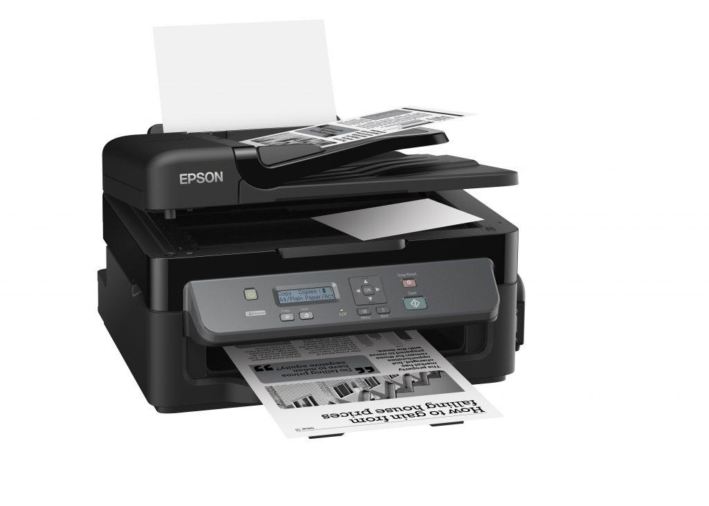 Epsonov WorkForce M200 je črnobeli tiskalnik z nizko porabo.