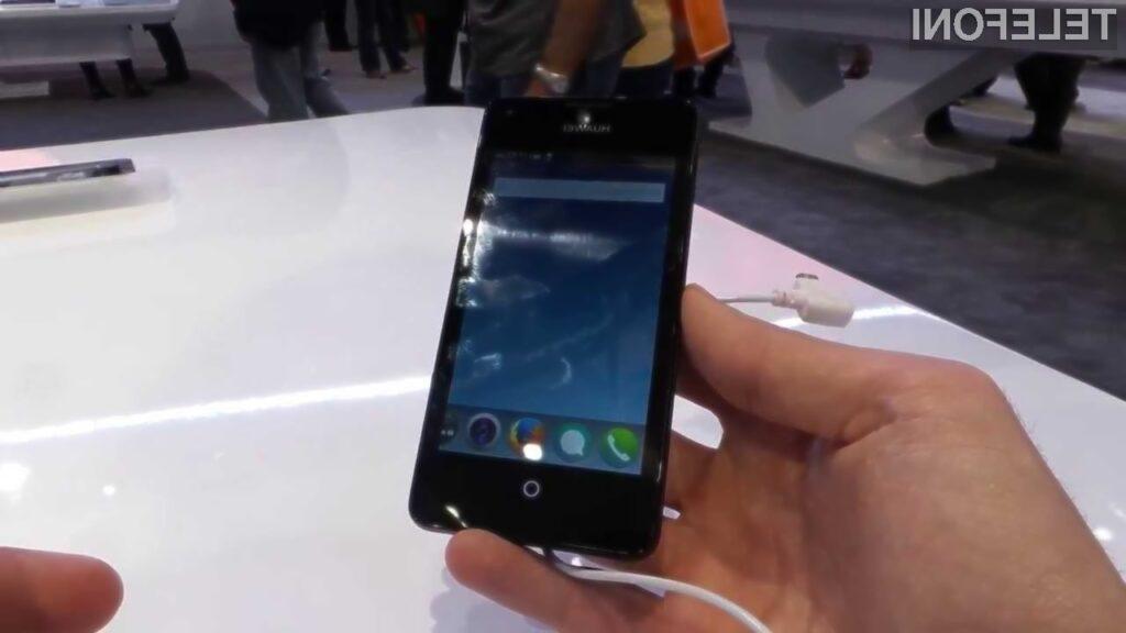 Mobilni operacijski sistem Firefox OS se odlično podaja mobilniku Huawei Y300 !