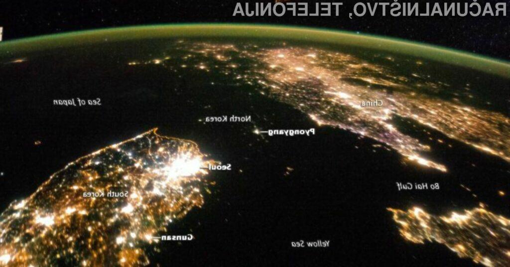 Temačna Severna Koreja