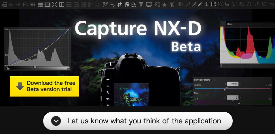 Brezplačni Capture NX-D