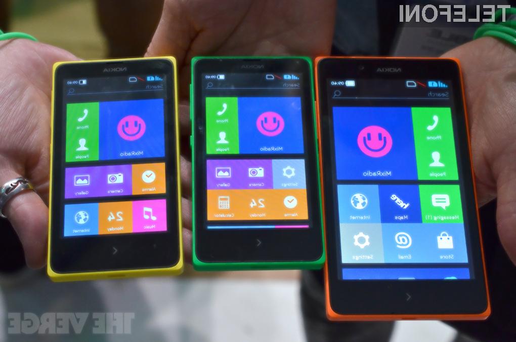 To je Nokia X - trčenje Androida in Windows Phona