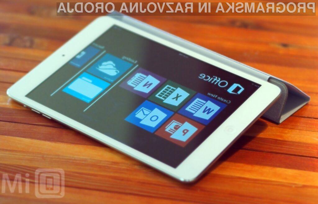 Polna inačica pisarniškega paketa Office bo kmalu na voljo tudi uporabnikom tablic iPad!