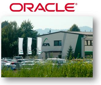 Povečanje vrednosti okolja Oracle