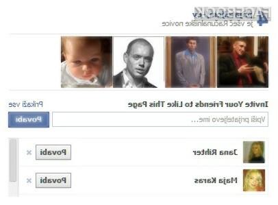 Povabi svoje prijatelje na Facebook stran Računalniških novic.
