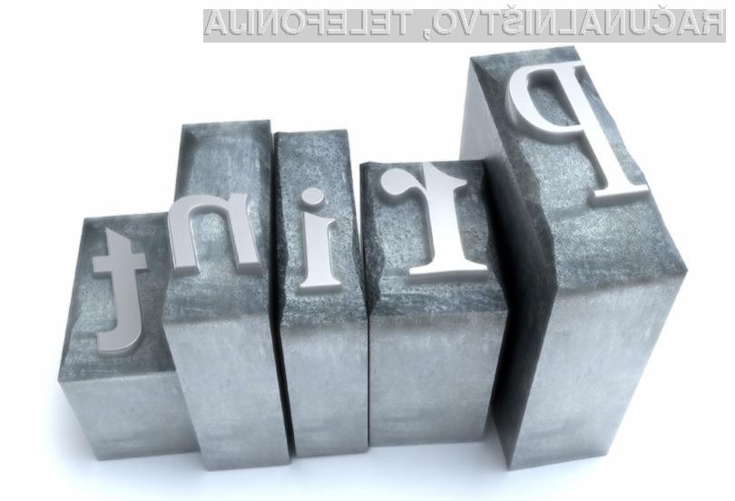 Razmišljate o nakupu tiskalnika?