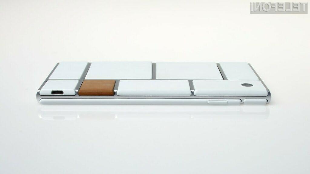 Googlov prvi modularni pametni telefon?
