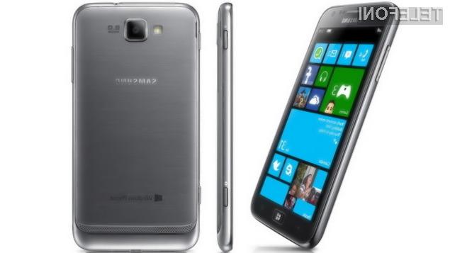SM-W750V bo prvi mobilnik Samsung, ki bo poganjal Windows Phone 8.1!