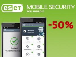 Samo do petka: Android zaščita -50%