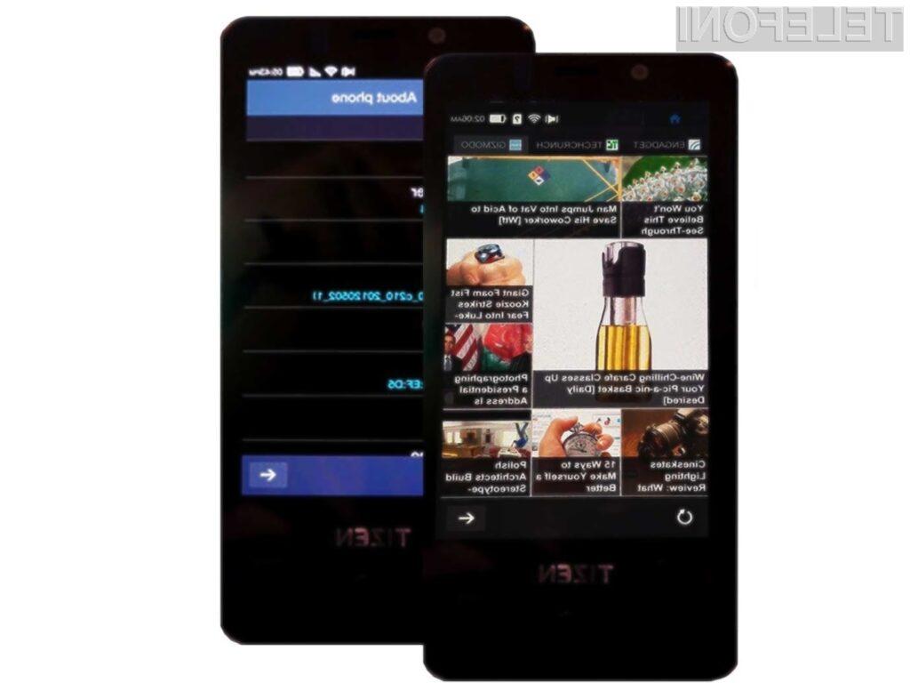 Operacijski sistem Tizen ima vse možnosti za to, da v prihodnosti nadomesti priljubljeni Android!