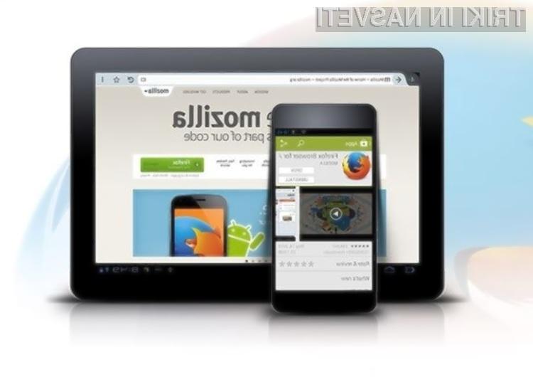Spletni brskalnik Firefox za Windows 8 Touch Beta se odlično znajde na dotik občutljivih zaslonih!