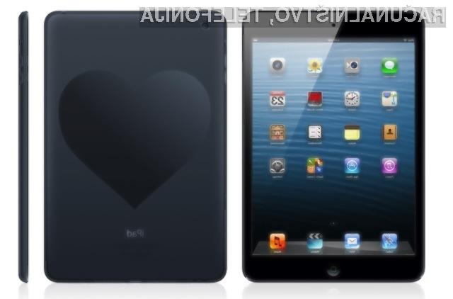 Za Valentinovo boste z nakupom Applovega tabličnega računalnika iPad vaši boljši polovici zagotovo zadeli v polno!