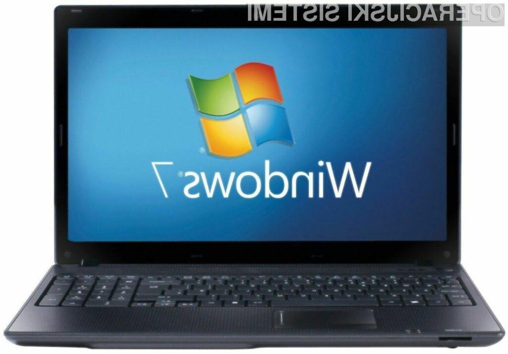 Microsoft z operacijskim sistemom Windows 7 ne želi ponoviti napake storjene z Windowsi XP!