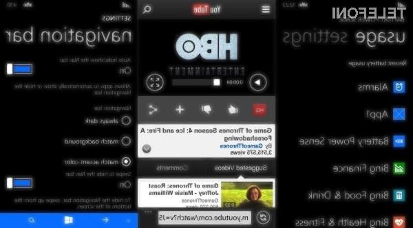 Mobilni operacijski sistem Windows Phone 8 bo prinesel številne uporabne novosti!