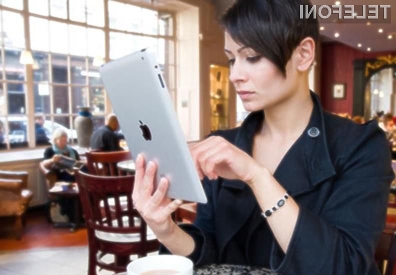 Uporabniki Applovih mobilnih naprav se varnostni ranljivosti lahko izognejo le s posodobitvijo operacijskega sistema iOS!