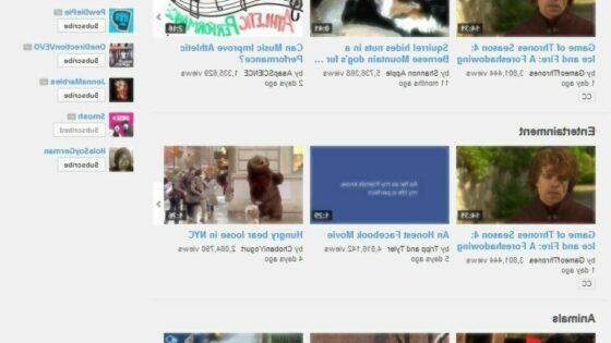 """S pomočjo kanala """"Popular on YouTube - Worldwide"""" do najbolj zanimivih videoposnetkov na spletni strani YouTube. (foto: youtube.com)"""