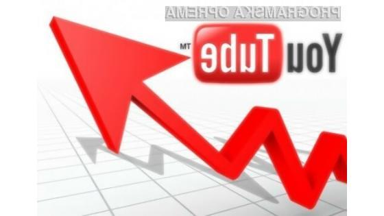 YouTube postal 10% hitrejši