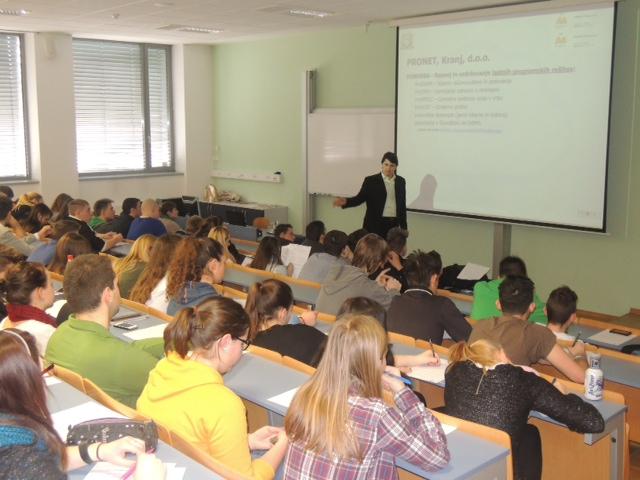 PRONET Kranj svoje dobre prakse, znanje in izkušnje deli z mladimi