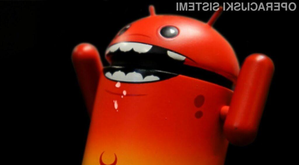 Android odgovoren za kar 97 odstotkov zlonamernih programov
