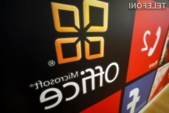 Čistokrvni Microsoftov pisarniški paket Office za Applove mobilne naprave naj bi bil na voljo za prenos že prvi polovici letošnjega leta.