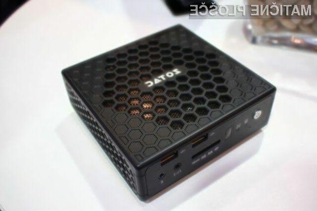 Kompaktni namizni računalnik Zotac družine ZBOX bo pri delovanju povsem neslišen in ne bo zahteval nikakršnega vzdrževanja.