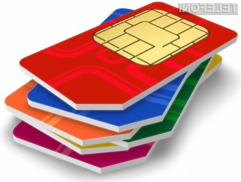 Univerzalne telefonske kartice SIM bodo uporabnikom zagotovile neodvisnost od ponudnikov storitev mobilne telefonije!