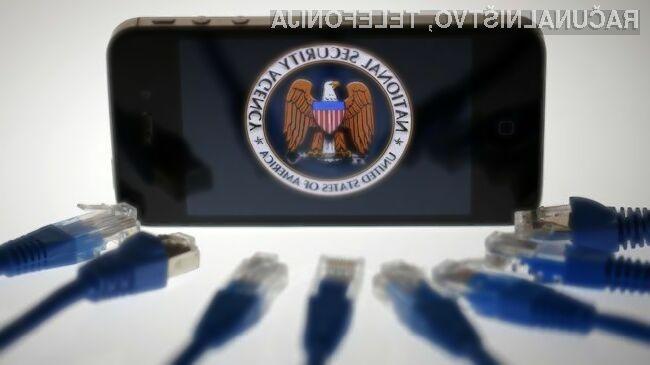 Pred dolgimi lovkami ameriške vohunske organizacije NSA ni varen nihče!