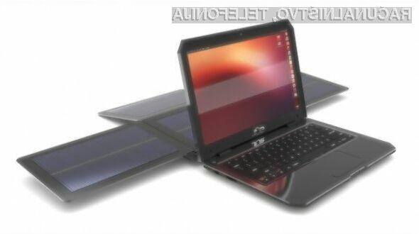 Nadvse zanimiv solarni računalnik WeWi SOL je kljub energijski varčnosti dovolj zmogljiv za vsakdanja opravila.