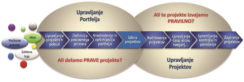 Celovito upravljanje projektov v podjetju